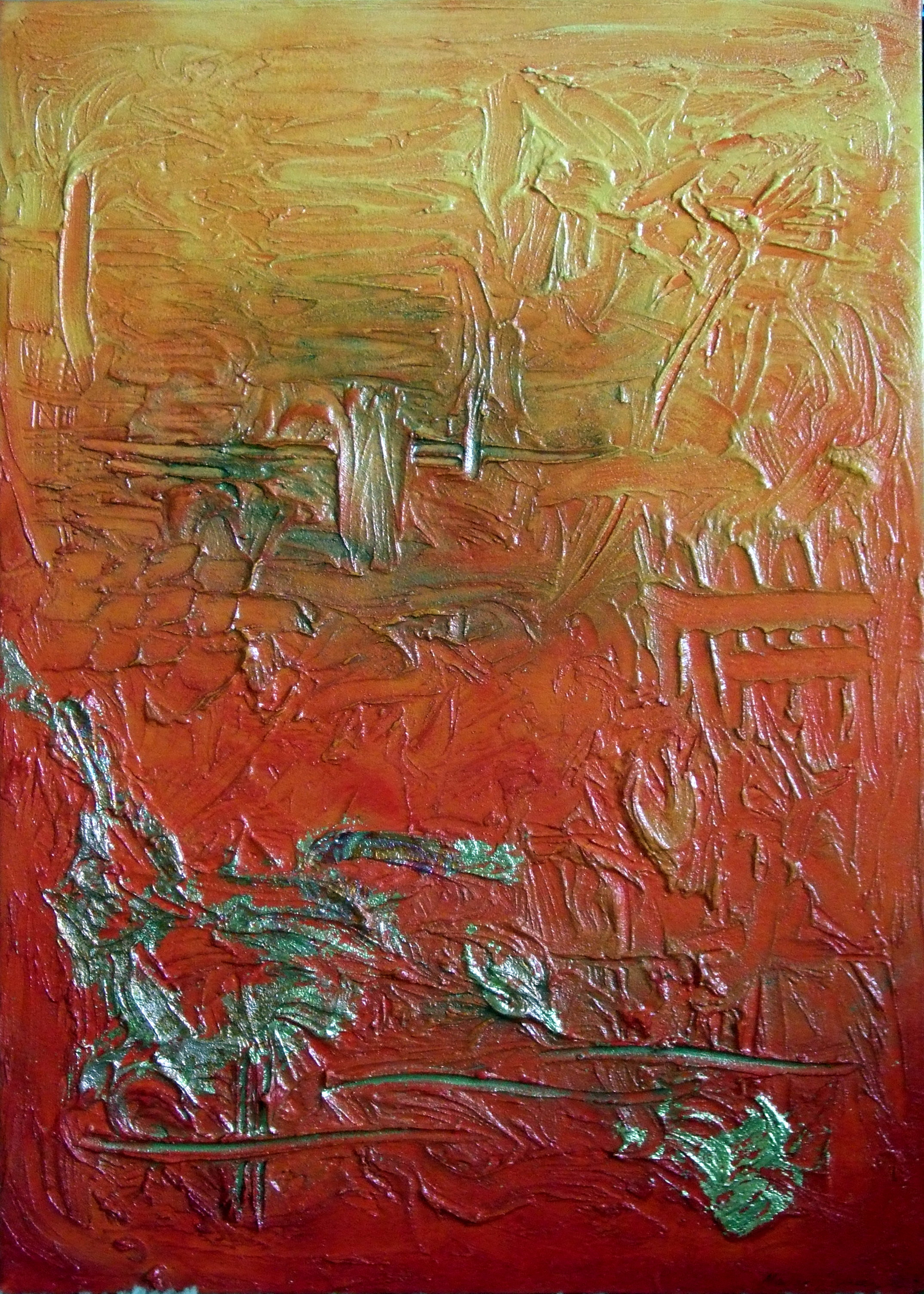 Acrylic painting archives painting texture for Texture painting ideas canvas